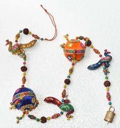 Meena Peacock Ball Hanging
