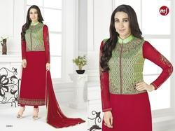 Collar Neck Full Sleeve Pakiza Salwar Suit
