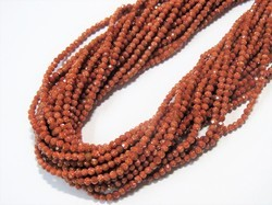 Goldstone Faceted Semi Precious Stone Beads
