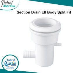 Section Drain Ell Body Split Fit