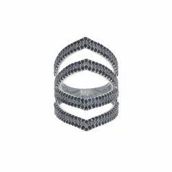 Black & White Pave Diamond Ring