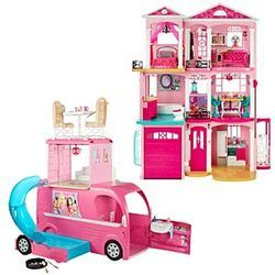 Retailer Of Barbie Dreamhouse Pop Up Camper Gift Set Barbie And