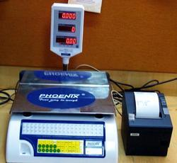 Label & Receipt Printing Scale