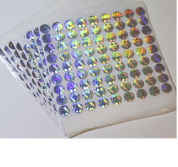 Paper Holographic Label