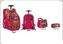 Kids Trolley School Backpack _ Multicolor