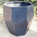 Royal Hexagonal Bronze Planter