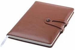 Leather Brown Diary