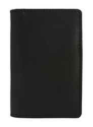 Slim wallet leather clip