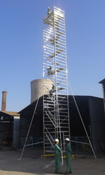 Mobile Aluminium Scaffold Tower Without Ladder