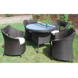 Dining Wicker Set Aluminum Wicker Furniture Manufacturer From New