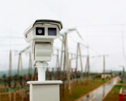 Electrical Substation Infrared Thermal Monitoring System
