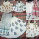 Traditional Block Printed Cotton Skirt