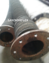Chemical Hose Wtih Rubberized Flange