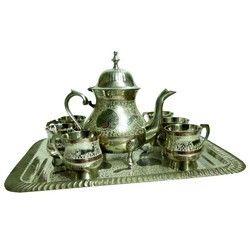 Brass Tea Set
