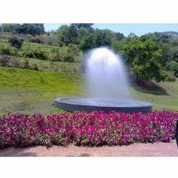 Peacock Fountains
