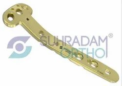 LCP Medial Proximal Tibia Plate T Type 3.5mm