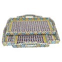 Wooden Mosaic Work Tray
