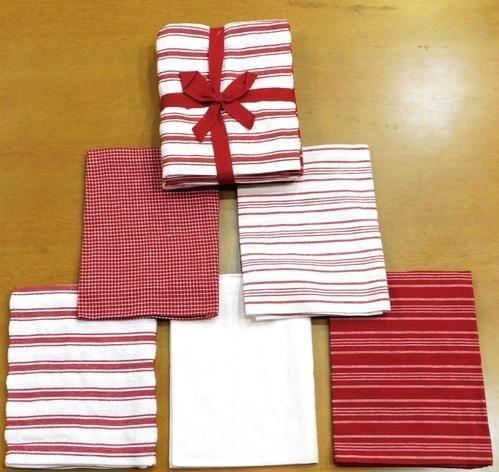 5pk Kitchen Towel Set