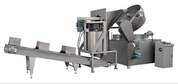Batch Type Potato and Banana Chips Making Line