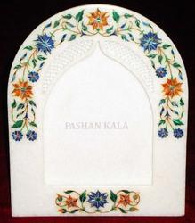 Stone Marble Inlay Picture Frame