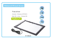 Multi Touch Touchscreens for  Raspberry PI