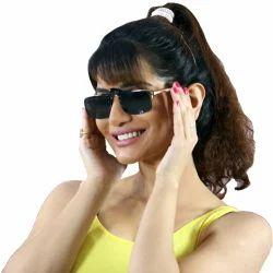 Kawachi Black Polarized Clip On Sunglasses Glasses Flip Up Driving Day Vision Sunglasses