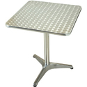 Aluminum Cafe Table