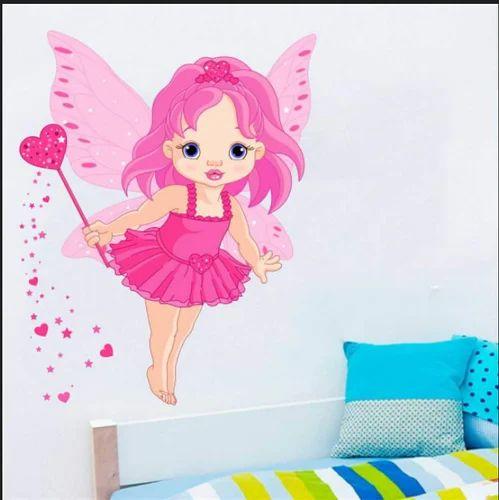 Wall Art Decor - Baby Angel Wall Sticker Service Provider from Delhi