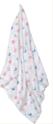 Organic Baby Single Muslin Wrap/Blanket
