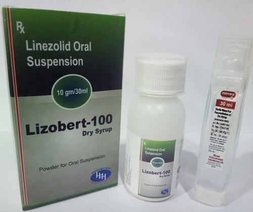 Linezolid suspension