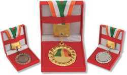 Sublimatable Metal Medal with Wooden Box
