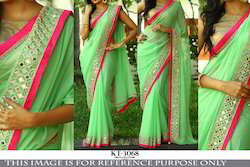 Heavy Bridal Saree