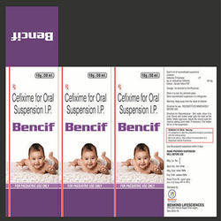 Cefixime for Oral Suspension I.p
