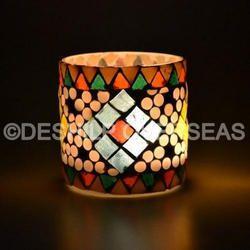 Mosaic Candle Votive