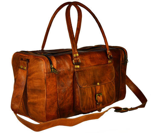 Leather Travel Bags - Handmade Leather Travel Bag Manufacturer from ... c93171940783b