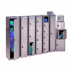 Clear Door Lockers