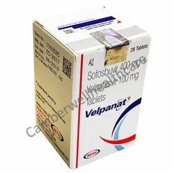 Sofosbuvir 400 mg and Velpatasvir 100 mg Tablets