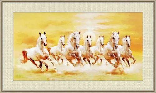 Seven Horse Painting As Per Vastu