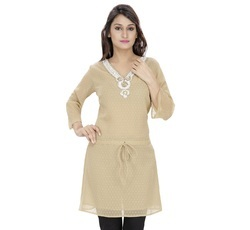Georgette Embellished Tunic