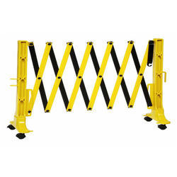 Foldable PVC Road Barrier