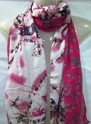 Poly Voile Printed Scarves