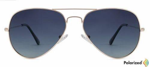 a7cbb7e588 Men Sunglasses - Golden Black Blue Gradient Full Rim Aviator Medium ...