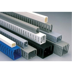 pvc wiring duct pvc duct trunking manufacturer from new delhi rh jaharvirpolymers com Panduit Wire Duct Plastic Wiring Duct