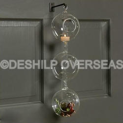 Rounded Hanging T-Light Hanging & Terrarium Planters
