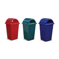 Rectangular Plastic Dustbins