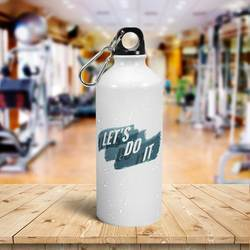 Photo Logo Aluminum Water Bottle