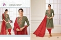 3/4 Sleeve Ladies Madhushala Salwar Suit Fabric