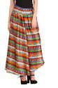 Cottinfab Women's Printed Skirt