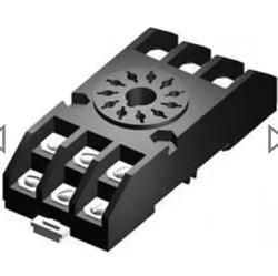 SE968 Relay Socket 11 Pin Rail Mtd