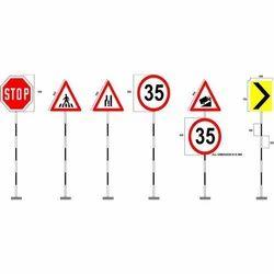 Retro-Reflective Traffic Sign Boards